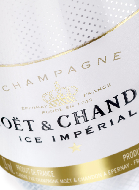 Moët Ice Imperial. Ice Tech Ice.