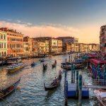 Canales y góndolas de Venecia