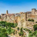 Pitigliano paesi medievali dell'Italia