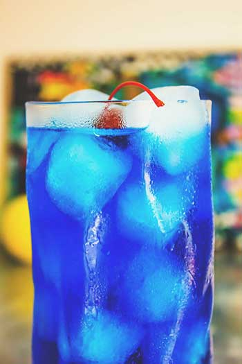 Cocktail Italiani - Blue Llagoon