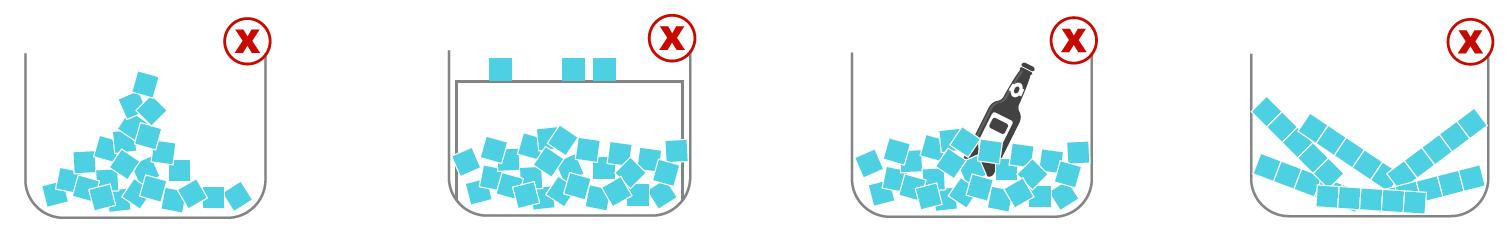 Beneficios de la gestión del hielo en las máquinas de hielo