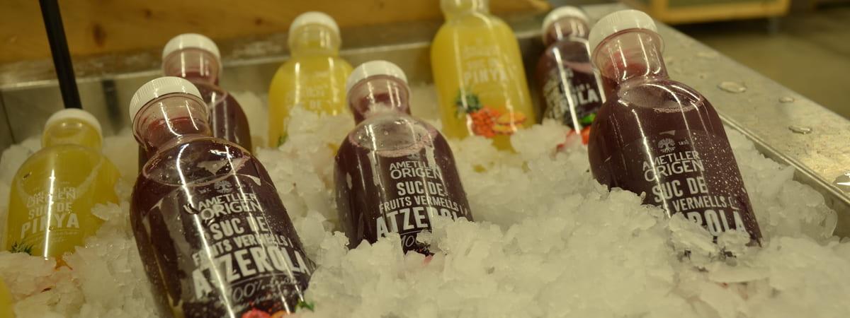 Uso del ghiaccio per la consegna